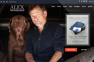 Website Design | Alex Woodard