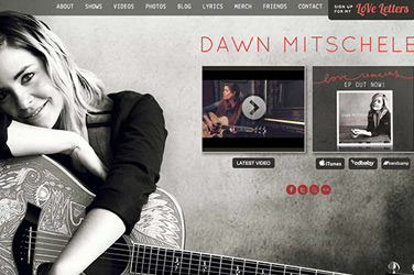 Website Design | Dawn Mitschele